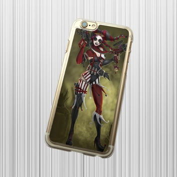 The Joker Harley Quinn Batman-- iPhone 6 6 Plus case,iPod Touch 4 5 case,iPhone 4 4s case,iPhone 5 5s 5c case,Samsung Galaxy S3 S4 S5 S6 S6 Edge  case,Samsung Galaxy Note 2 3 4 case SKT489 = 1928010244