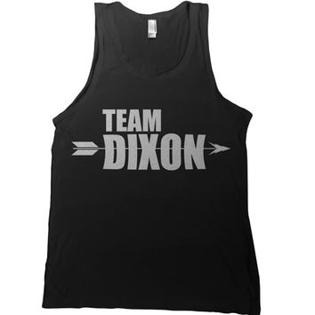 Team Dixon Mens Tank Top - group walking dead t-shirt daryl dixon fan hoodie ladies tank tee tshirt