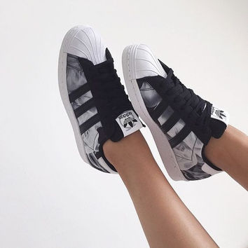 """ADIDAS"" Trending Fashion Casual Sports Shoes Grey"