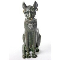 Bastet Egyptian Cat Statue, Gayer-Anderson 10H