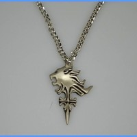 Final Fantasy VIII SQUALL GRIEVER pendant Necklace New Hot
