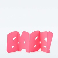 Babe! Pop Out Card - Urban Outfitters