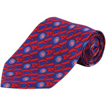 Chicago Cubs Nexus Tie - Red/Royal Blue