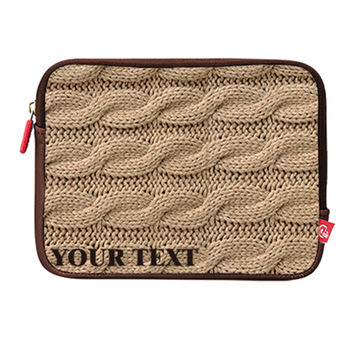 Personalized High Quality Bag Laptop Sleeve Case Pouch 12 13 15 MacBook Pro Retina Air iPad Sweater Easy Custom