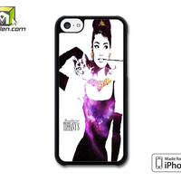 Audrey Hepburn Breakfast At Tiffany iPhone 5c Case Cover by Avallen