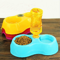 Cats Pets Pet Suppliespets Cats pet suppliesPets Puppy Dogs Cats Automatic Water Drinking Feeding Basin Food Bowls