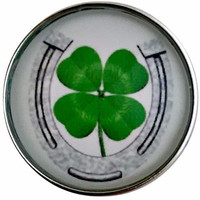 Horse Shoe-Clover Snap 20mm for Snap Jewelry