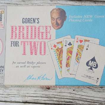 Goren's Bridge for Two game 1964 by ItRunsInTheFamily on Etsy