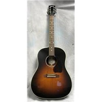 Gibson Used Gibson 2011 J45 Standard Vintage Sunburst Acoustic Electric Guitar | GuitarCenter