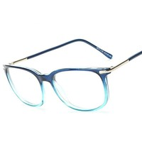 Ultralight Women Optics Glasses Frame Fashion Man Multicolor Square Eyeglasses