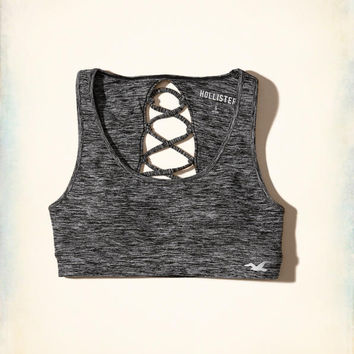 Girls Hollister Cali Sport Strappy Scoop Sports Bra | Girls Clearance | HollisterCo.com