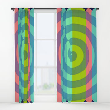 zappwaits satisfaction Window Curtains by netzauge