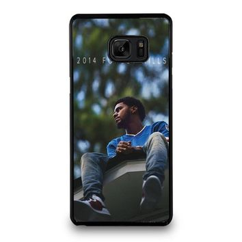 J. COLE FOREST HILLS Samsung Galaxy Note 7 Case Cover