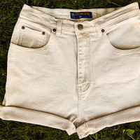 Tan Jordache High Waisted Shorts
