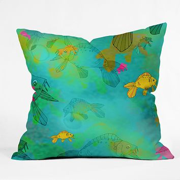 Aimee St Hill Fish Throw Pillow