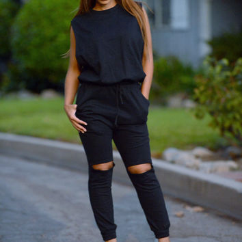 Harlem Jumpsuit - Black