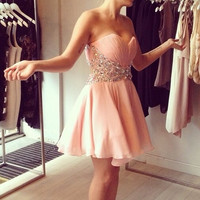 Mini Homecoming Dress for Homecoming