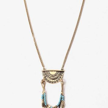 Feather+Chime+Necklace