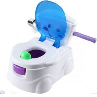 Kids Toilet Training 2 in 1 Baby Toddler Potty  Seat Trainer Chair   blue