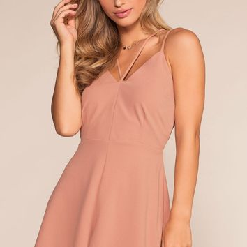 Dream It Romper - Blush