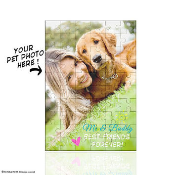 Pet photo Puzzle-pet photo jigsaw puzzle-Toys & Games-gift idea-Christmas gift-gift for per lovers-gift-birthday gift-by NATURA PICTA-NPZ002