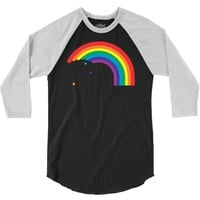 rainbow 3/4 Sleeve Shirt