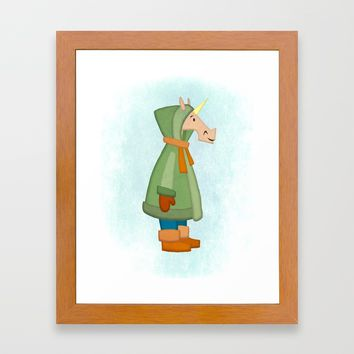 Cozy Hoody Unicorn Metal Print by That's So Unicorny