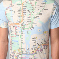 Urban Outfitters - NYC Subway Line Tee