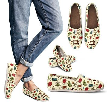 Sewing Machine Casual Shoes-Clearance