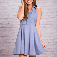 Party For Presh Dress, Navy