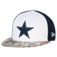 Dallas Cowboys New Era Salute To Service 59Fifty Cap | Salute to Service | Cowboys Catalog | Dallas Cowboys Pro Shop