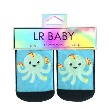Octo-Pizza Baby Socks