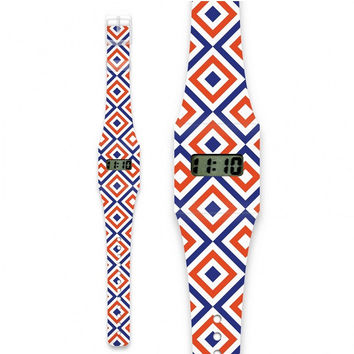 Fashion Pappwatch Made of Paper - Quadrature