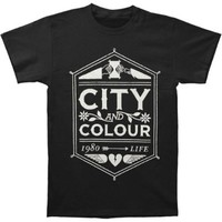 City And Colour Crest T-shirt Large
