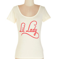 ModCloth Short Length Short Sleeves Lots of Personality Tee