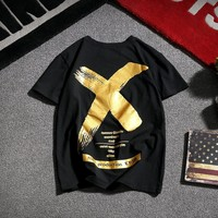 Short Sleeve Hip-hop Korean Summer T-shirts [10833223491]