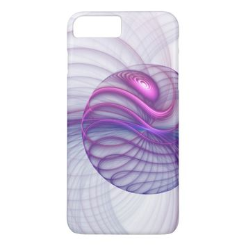 Beautiful Movements Abstract Fractal Art Pink iPhone 7 Plus Case