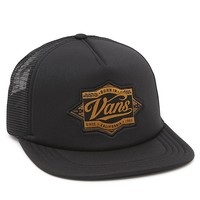 Vans Brewed Black Trucker Hat - Mens Backpack - Black - One