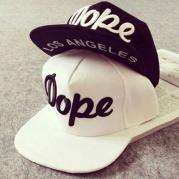 Dope Hip Hop Adjustable Snapback Baseball Hat/cap
