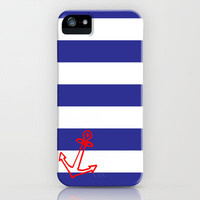 Nautical Phone Case iPhone & iPod Case by Addison Diaz