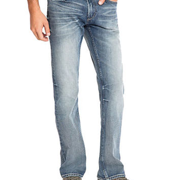 Guess Relaxed Straight Adversary Wash Jeans