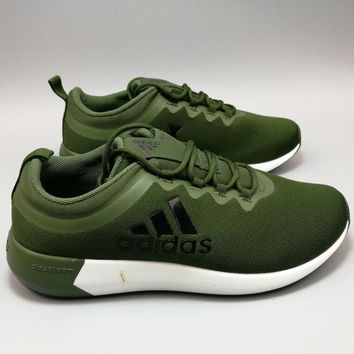 """Adidas"" NEO X Perspective Breathable Nets Loose Sports Shoes Olive green H-MDTY-SHINI"