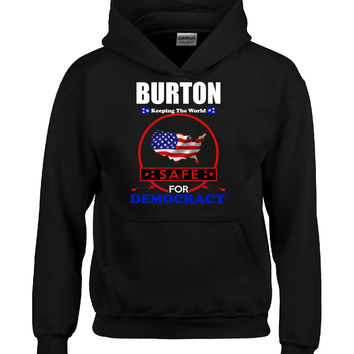 BURTON Keeping The World Safe for Democracy v5 - Hoodie