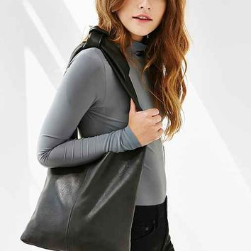 Silence + Noise Leather Knot Shopper Tote Bag