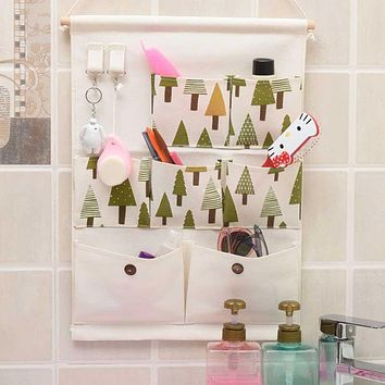 Wall Wardrobe Hanging Organizer Home Sundries Jewelry Storage Bags Hanger Organizer Kids Toys Storage Bag Room Organize Bags