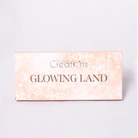 Beauty Creations: Glowing Land Highlight Palette - Multi