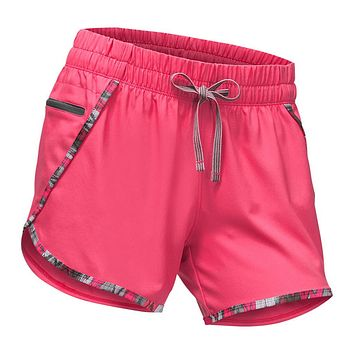 Women's Class V Shorts in Honeysuckle Pink by The North Face