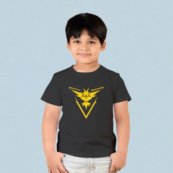 Kids T-shirt - Pokemon Go Instinct Team