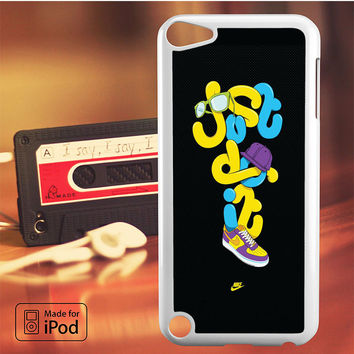 Nike Just Do It Edited iPod Touch 4 5 6 Case Cover