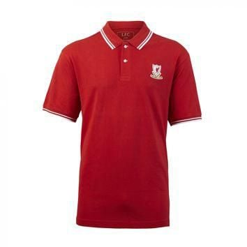 Liverpool FC - Retro Red Polo Shirt